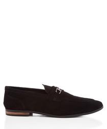 Kai black loafers