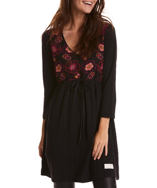 38a52cce7 Lush Grace black pure cotton dress Sale - odd molly Sale