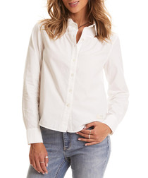 Duet Bright White pure cotton shirt