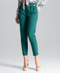 Cigarillo sea green slim trousers