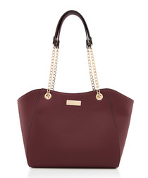 Bex wine chain strap shoulder bag