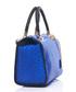 Viola blue leather grab bag Sale - anna morellini Sale