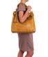 Rosallia yellow leather shoulder bag Sale - anna morellini Sale
