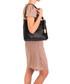 Linda black leather shoulder bag Sale - Anna Morellini Sale