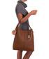 Callida I brown leather grab bag Sale - anna morellini Sale