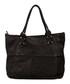 Milena black leather shopper bag Sale - anna morellini Sale