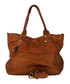 Milena brown leather shopper bag Sale - anna morellini Sale