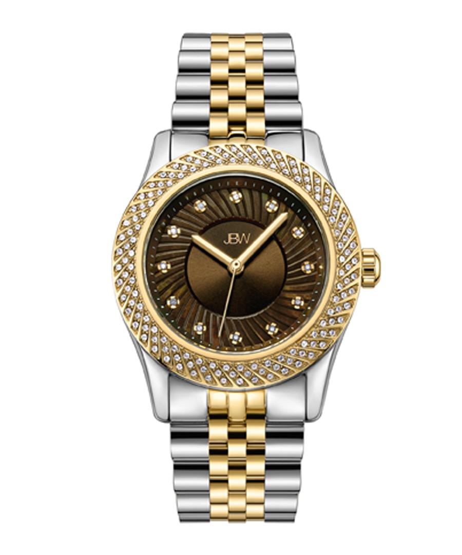 Carina mother-of-pearl & diamond watch Sale - jbw