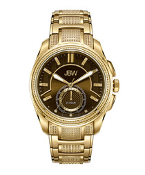 Prince gold-plated diamond watch