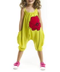 Poppy chartreuse jumpsuit
