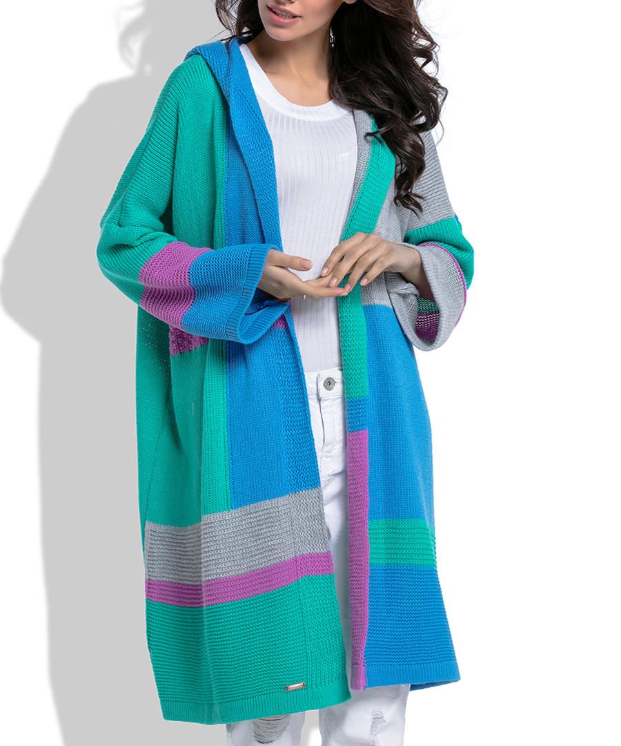 Multi-colour wool blend cardigan Sale - fobya