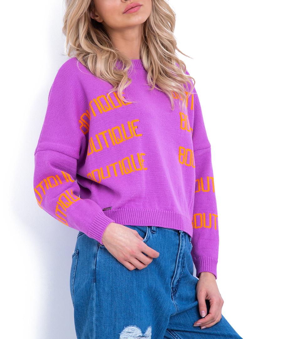 Spring & coral print boutique jumper Sale - fobya