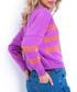 Spring & coral print boutique jumper Sale - fobya Sale