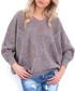 Latte large diamond knit jumper Sale - fobya Sale