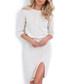 2pc Ecru cable knit outfit set Sale - fobya Sale