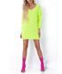 Lime oversized jumper dress Sale - fobya Sale