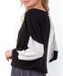 Black colour block jumper Sale - fobya Sale