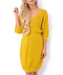 Ceylon cinched waist jumper dress