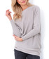 Beige off-the-shoulder jumper Sale - fobya Sale