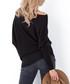 Black off-the-shoulder jumper Sale - fobya Sale