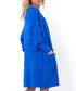 Blue oversized longline cardigan Sale - fobya Sale