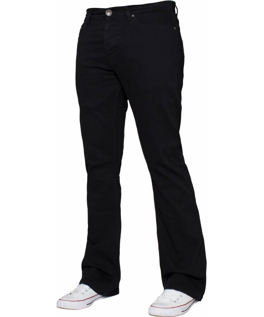 Black Bootcut Men's Jeans Sale - Enzo