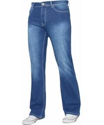 Light Blue Bootcut Men's Jeans