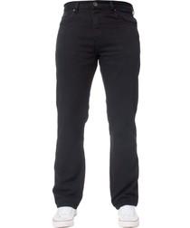 Men's Basic Regular Black Jeans