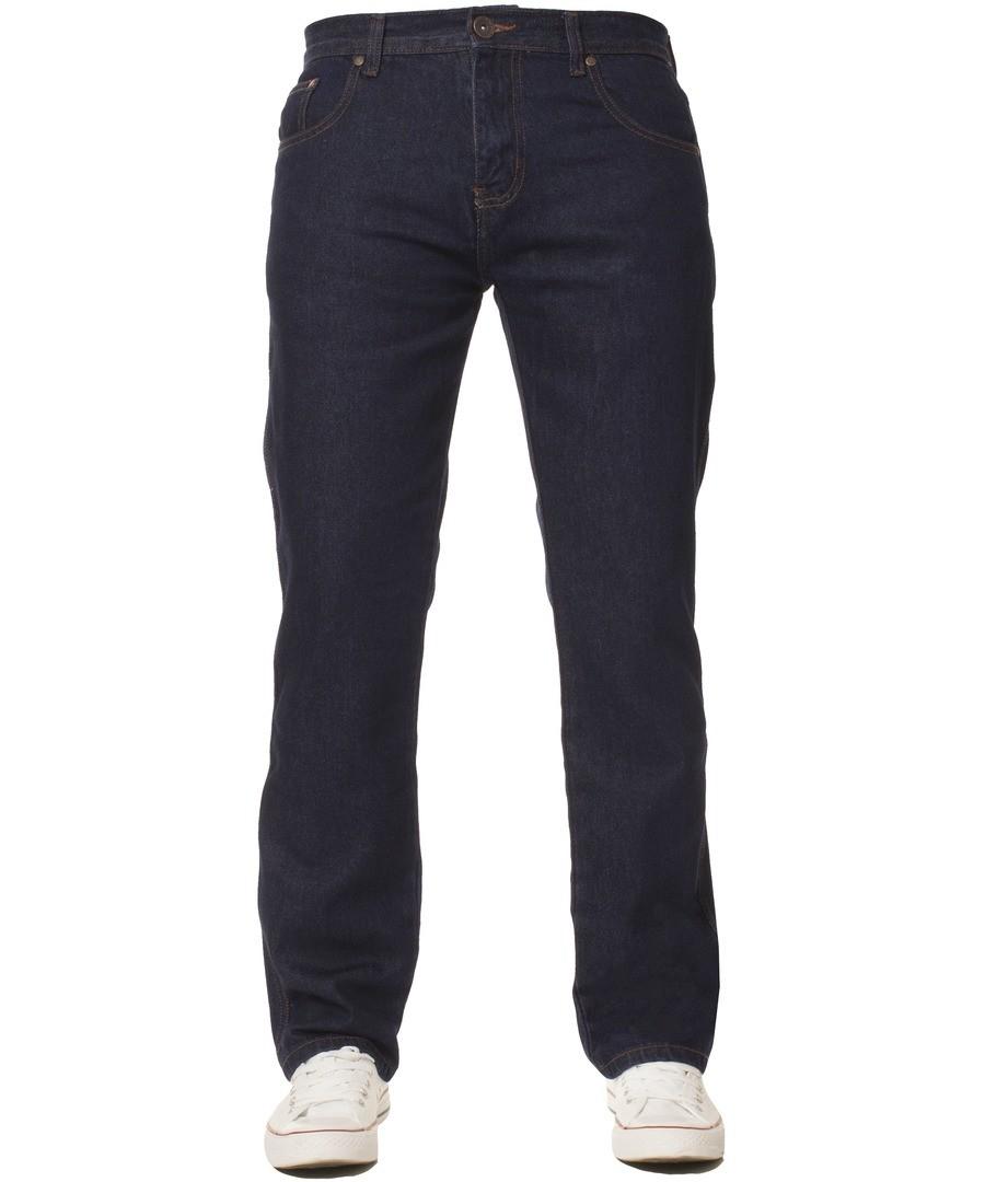Men's Basic Regular Indigo Jeans Sale - Kruze by Enzo