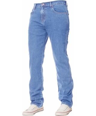 caa070262f7 Kruze by Enzo. Men s Basic Regular Light Blue Jeans