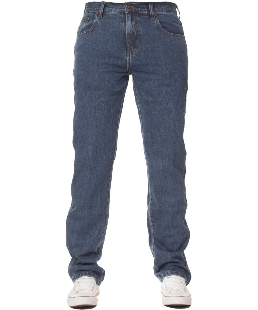 Men's Basic Regular Blue Jeans Sale - Kruze by Enzo
