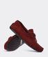real suede burgundy loafer man shoe Sale - deery man Sale