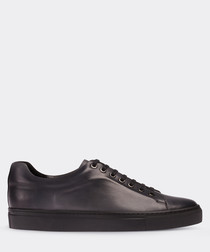 real leather gray sneaker man shoe