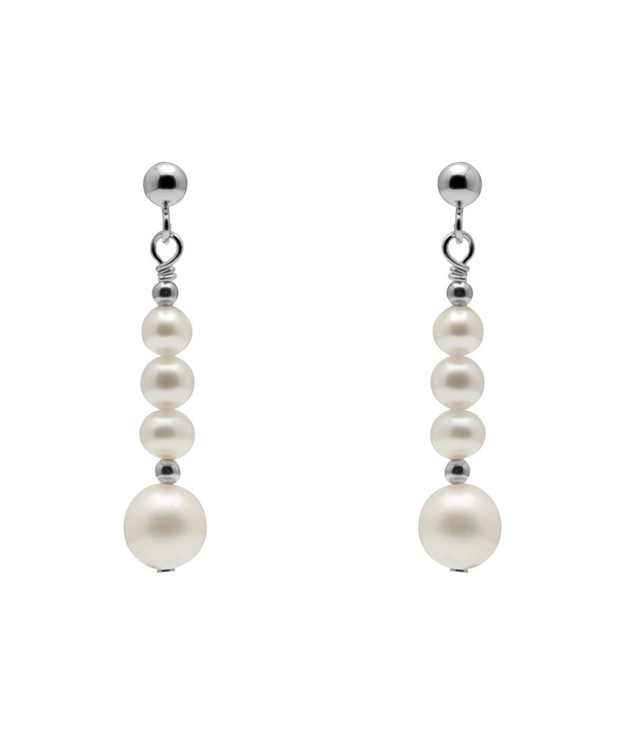 0.6cm pearl & sterling silver earrings Sale - Windsor Pearl
