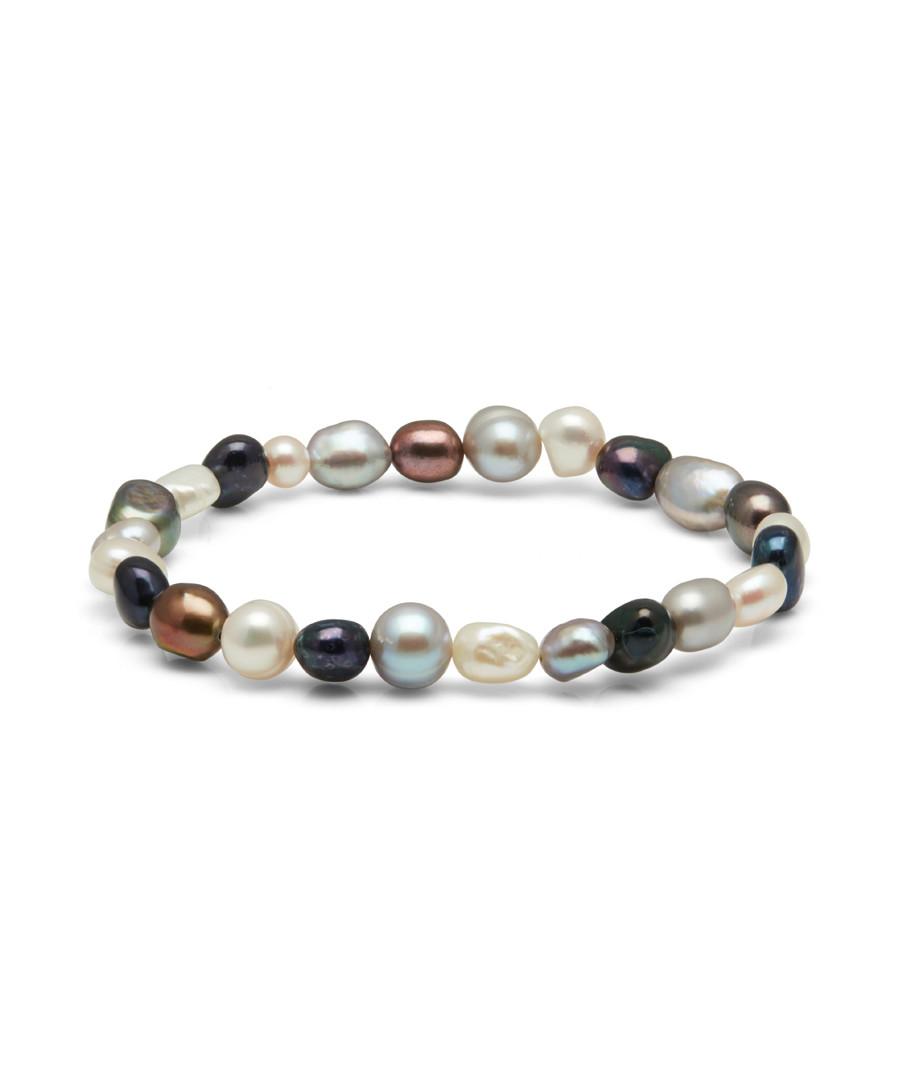 0.8cm multi-coloured pearl bracelet Sale - Windsor Pearl