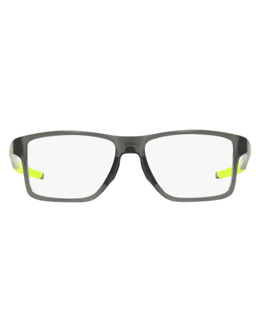 chamferuared grey & clear glasses Sale - Oakley