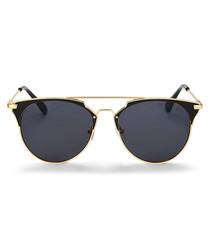 Giza gold-tone club sunglasses