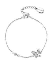butterfly lovers Swarovski bracelet