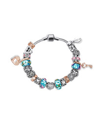 cherished Swarovski bead bracelet