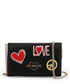 Black love & peace crossbody Sale - love moschino Sale