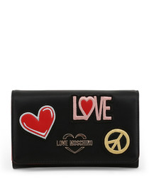 Black love & peace crossbody
