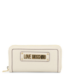 All-cream logo purse