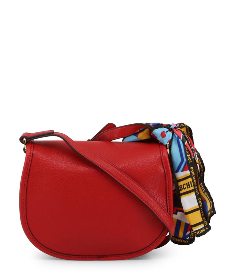 932e651917890 ... Red bow semi shoulder bag Sale - love moschino ...
