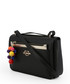 Black pompom zip crossbody Sale - love moschino Sale