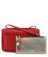 Red pompom zip crossbody Sale - love moschino Sale