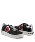 Black, white & red heart sneakers Sale - love moschino Sale