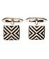 Linear sterling silver cufflinks Sale - fred bennett Sale