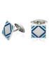 sterling silver & blue cufflinks Sale - fred bennett Sale