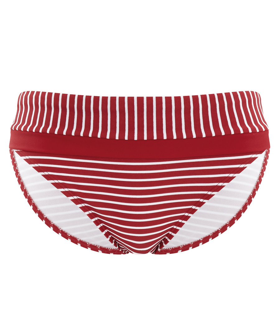 Britt red striped bikini briefs Sale - Swimwear