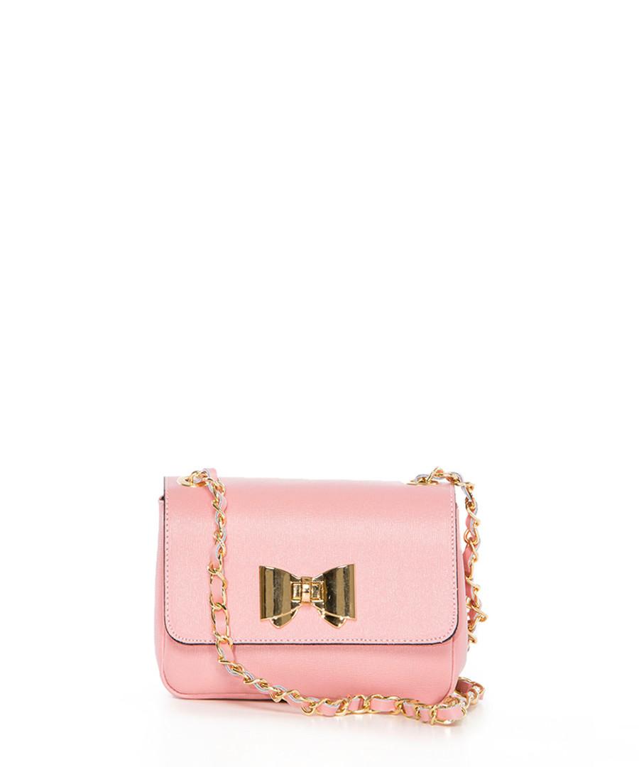 Monte Lesima pink leather crossbody Sale - pia sassi